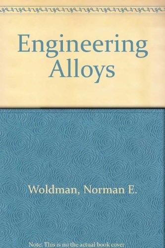 9780871704085: Engineering Alloys (Materials data series)