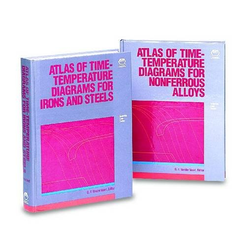 9780871704153: Atlas of Time-Temperature Diagrams for Irons and Steels (Materials Data Series)