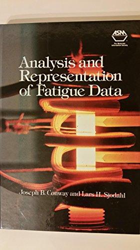 9780871704276: Analysis and Representation of Fatigue Data