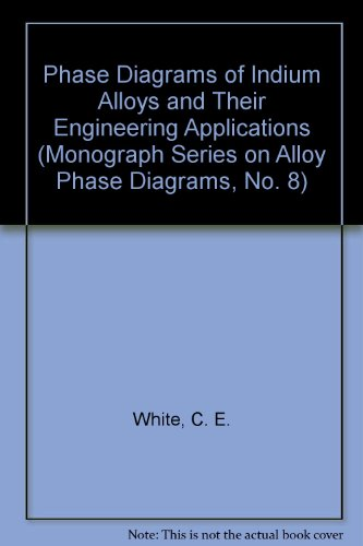 9780871704382: Phase Diagrams of Indium Alloys and Their Engineering Applications (Monograph Series on Alloy Phase Diagrams, No. 8)