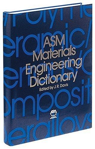 9780871704474: ASM Materials Engineering Dictionary