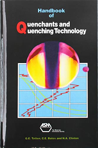 9780871704481: Handbook of Quenchants and Quenching Technology