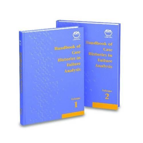 9780871704535: Handbook of Case Histories in Failure Analysis: Volume 1: v. 1