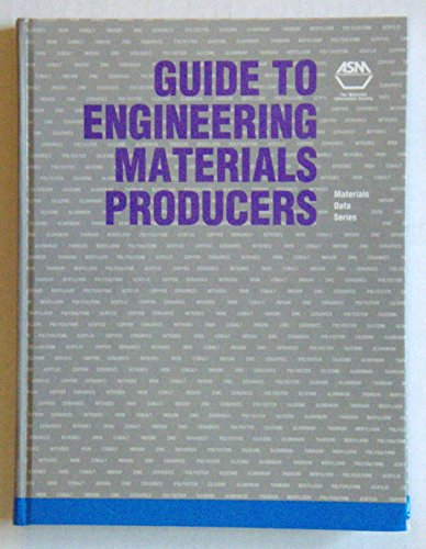 9780871704863: Guide to Engineering Materials Producers