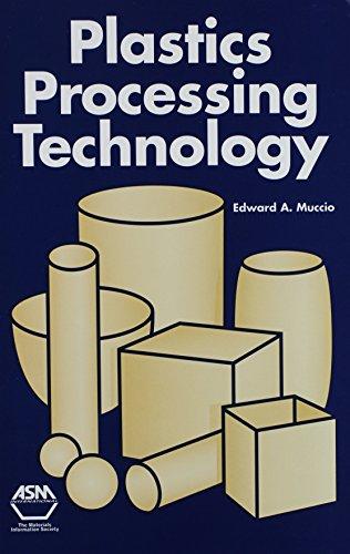 Plastics Processing Technology: Edward A. Muccio