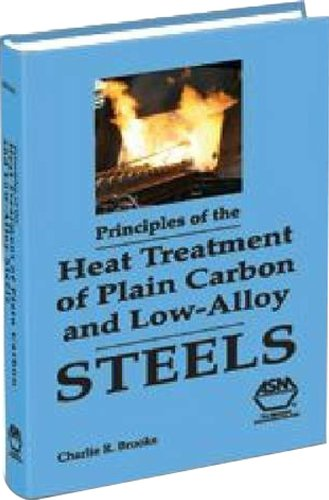 9780871705389: Principles of the Heat Treatment of Plain Carbon and Low Alloy Steel
