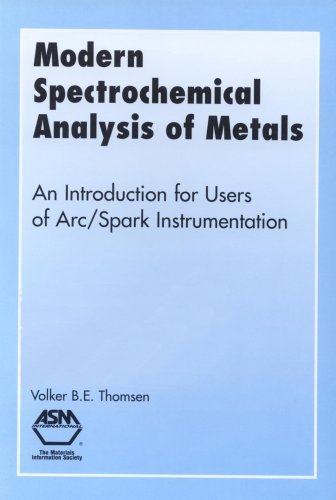 9780871705785: Modern Spectrochemical Analysis of Metals: An Introduction for Users of Arc-Spark Instrumentation
