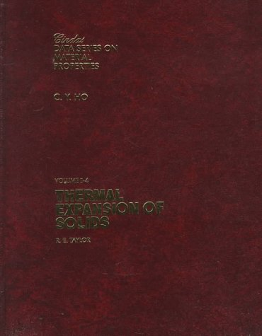 9780871706232: Thermal Expansion of Solids (Cindas Data Series on Material Properties, V. I-4)