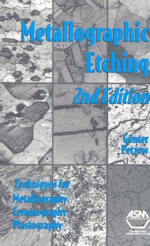 9780871706331: Metallographic Etching: Techniques for Metallotraphy, Ceramography, Plastography