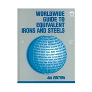 9780871706355: World Wide Guide to Equivalent Irons and Steels (Materials Data Series.)