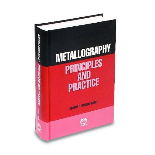 9780871706720: Metallography: Principles and Practice (06785G)