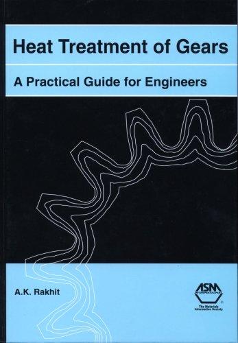 Heat Treatment of Gears: A Practical Guide: A.K. Rakhit