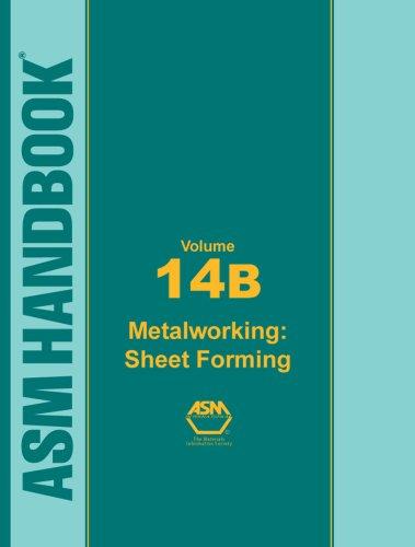 9780871707109: ASM Handbook: Volume 14B: Metal Working: Sheet Forming (ASM Handbook)