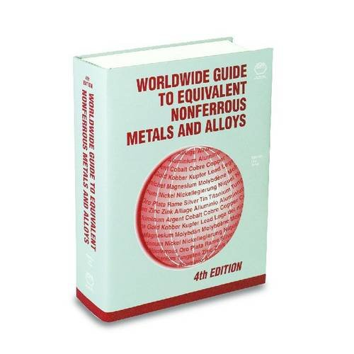 9780871707413: Worldwide Guide to Equivalent Nonferrous Metals and Alloys (ASM Materials Data Series)