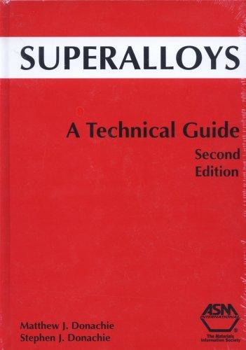 9780871707499: Superalloys: A Technical Guide