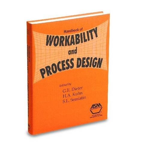 9780871707789: Handbook of Workability and Process Design