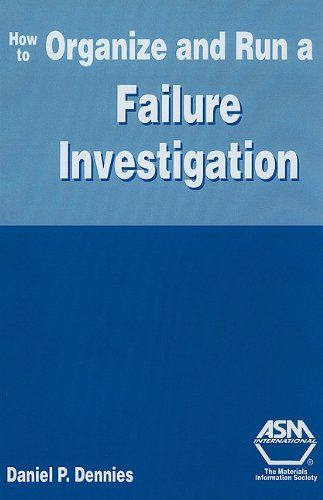 9780871708113: How to Organize And Run a Failure Investigation