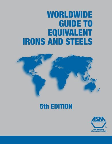 9780871708229: Worldwide Guide to Equivalent Irons and Steels (Asm Materials Data Series)
