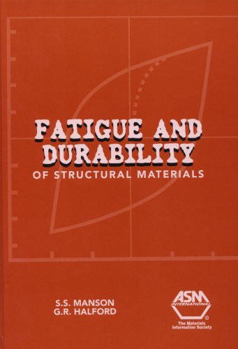 9780871708250: Fatigue And Durability of Structural Materials