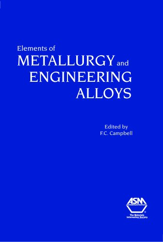 9780871708670: Elements of Metallurgy and Engineering Alloys