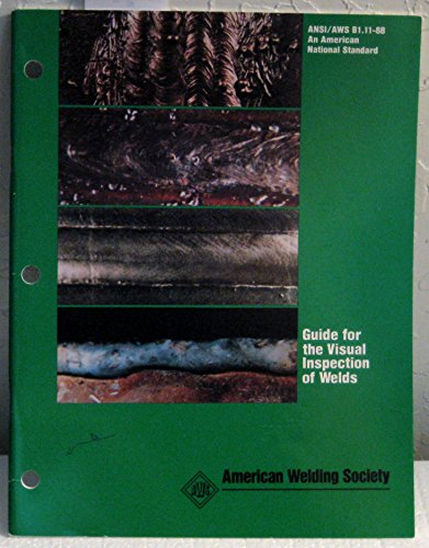 9780871712936: Guide for the Visual Inspection of Welds (B1.11-88)