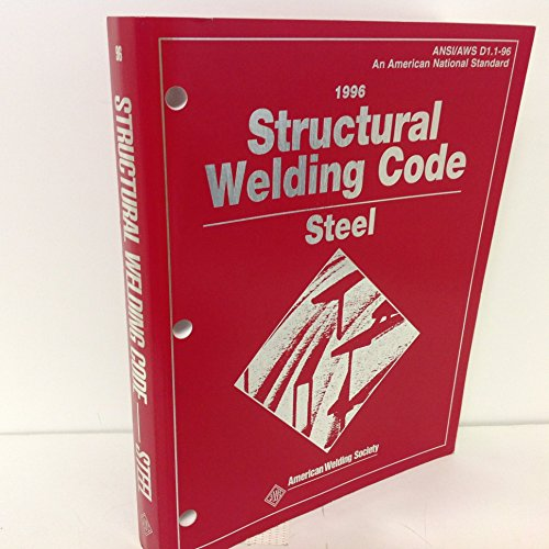 9780871714657: Structural Welding Code: Steel : Ansi/Aws D1.1-96 (Structural Welding Code for Steel)