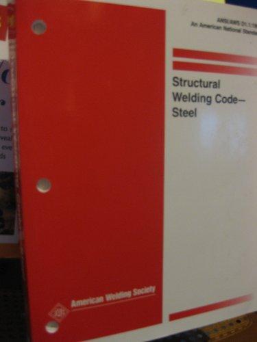 9780871715258: Structural Welding Code : Steel : Ansi/Aws D1.1 98