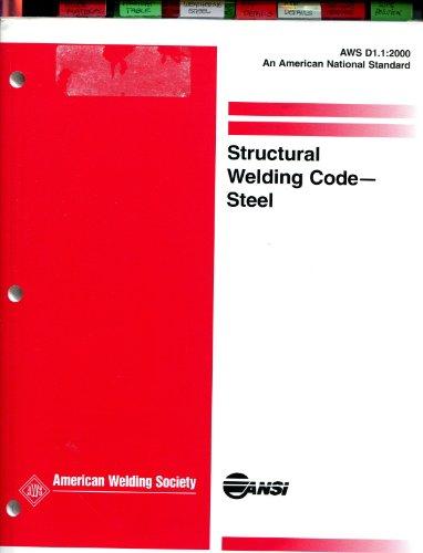 9780871716101: Aws D1.1: 2000, Structural Welding Code-Steel