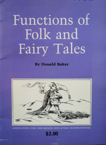 9780871730961: Functions of Folk and Fairy Tales