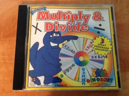 9780871776501: Dinosoft Multiply & Divide