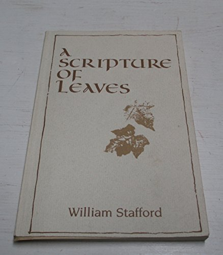 9780871785299: A scripture of leaves