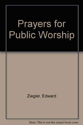 9780871787248: Prayers for Public Worship