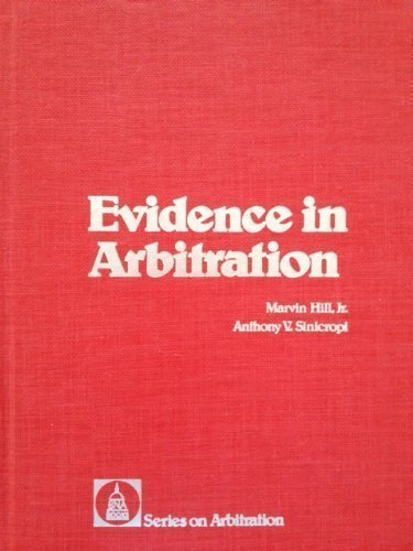 9780871793362: Evidence in arbitration