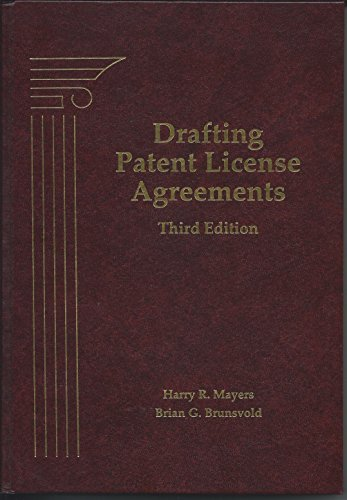 9780871796745: Drafting Patent License Agreements
