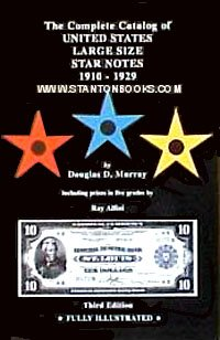 9780871842039: Complete Catalog of Large Size Star Notes 1910-1929