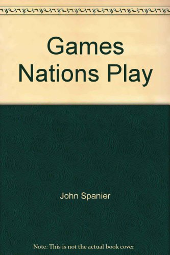 9780871874009: Games nations play