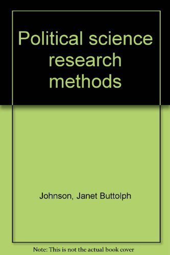 9780871875563: Title: Political science research methods