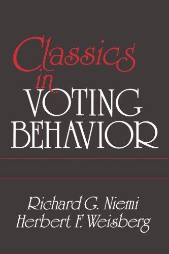 9780871876515: Classics in Voting Behavior