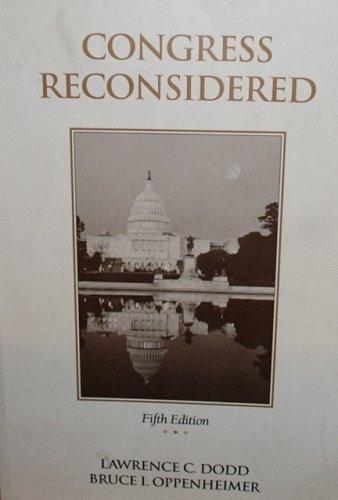 9780871877123: Congress Reconsidered