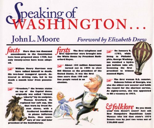 9780871877628: Speaking of Washington: Facts, Firsts, and Folklore