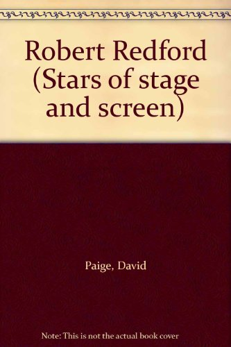 9780871915542: Robert Redford (Stars of stage and screen)