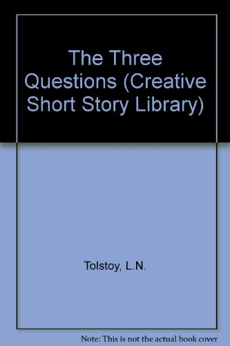 9780871919625: The Three Questions (Creative Classic Series) (English and Russian Edition)