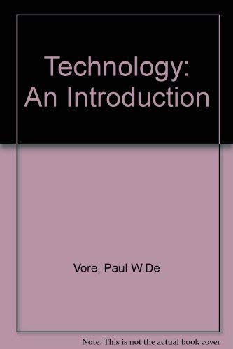 9780871921154: Technology, an Introduction