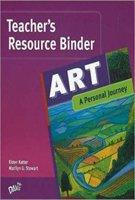 9780871925602: Art - Teachers' Resource Binder: A Personal Journey