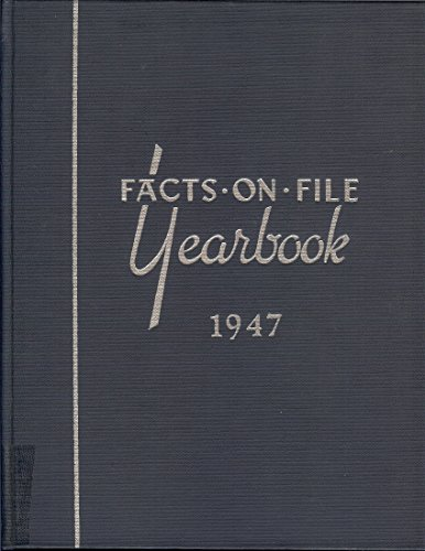 9780871960061: Facts On File Yearbook World News Digest, 1947