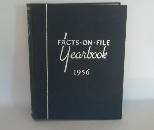 9780871960153: Facts on File Yearbook 1956