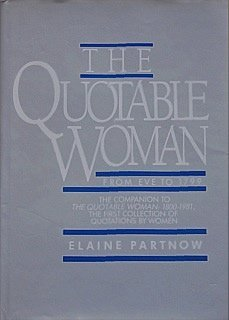 THE QUOTABLE WOMAN: From Eve to 1799
