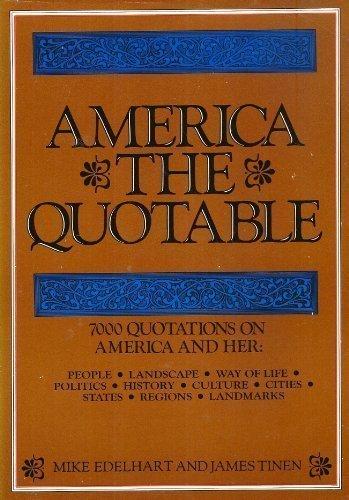 9780871963314: America the quotable