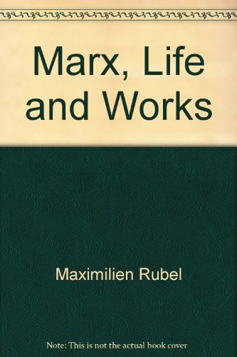9780871965165: Marx, Life and Works (Facts On File Chronology Series)
