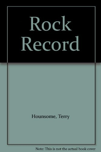 Rock Record: Terry Hounsome